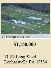 71-89 Long Road Lenhartsville PA - Berks County Horse Properties for Sale